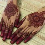 5 classy heena designs for the bridesmaid