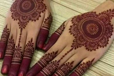 5 classy heena designs for the bridesmaid
