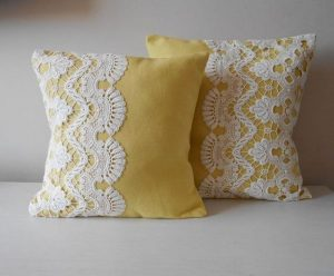 Lacework cushion designs