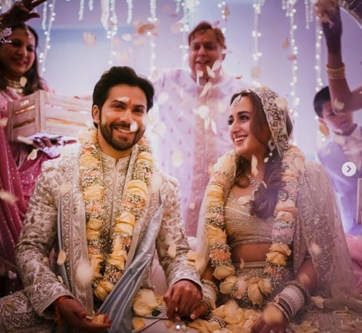 Varun Dhawn and Natasha Dalal wedding