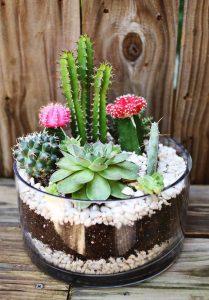 Pebble craft for garden