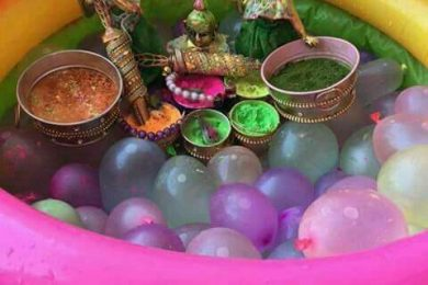 Holi home and party decor ideas-Threads-WeRIndia