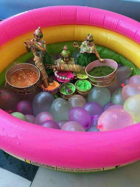 Holi home and party decor ideas