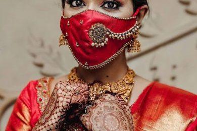 6 Concepts For A Unique Bridal Mask