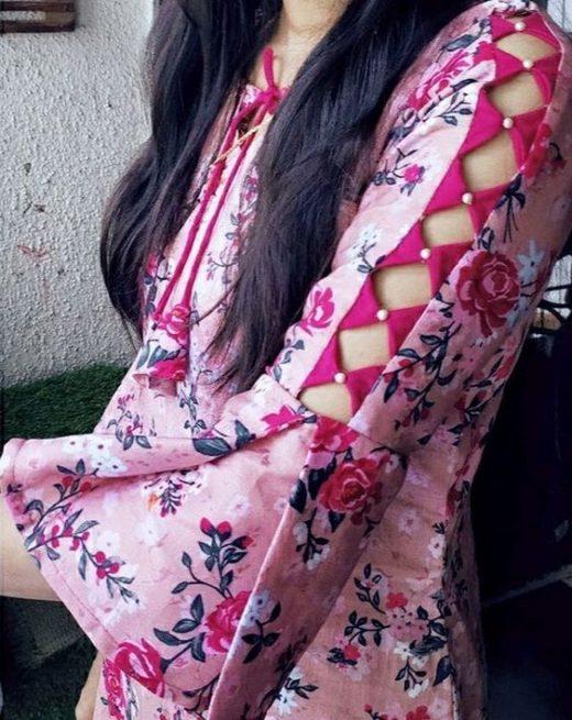 Sleeve designs for Indian Kurta and Kurti