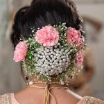 Bridal Buns Look Surreal With Addition Of Pearls