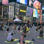International Yoga Day Celebrated By Over 3000 People At The Iconic Times Square, New York