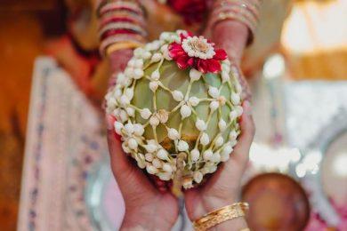 Kobbari Bondam or decorated Coconut ideas for weddings