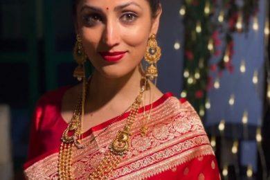 Yami Gautam as newly wed-Threads-WeRIndia