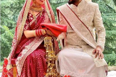 Yami gautam gets married to Aditya Dhar in an intimate wedding ceremony-Threads-WeRIndia