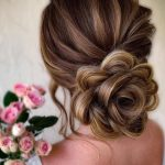 Bun Hairstyle for Traditional Indian Dresses
