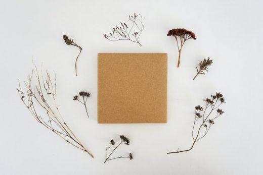 Create wallart using old cardboard