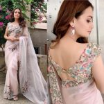 3 Back Blouse Designs To Steal From Dia Mirza's Wardrobe
