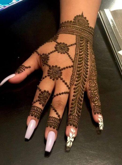 Heena mehndi designs to make yourself