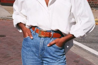 4 Ways To Style An Oversized Button Down Shirt