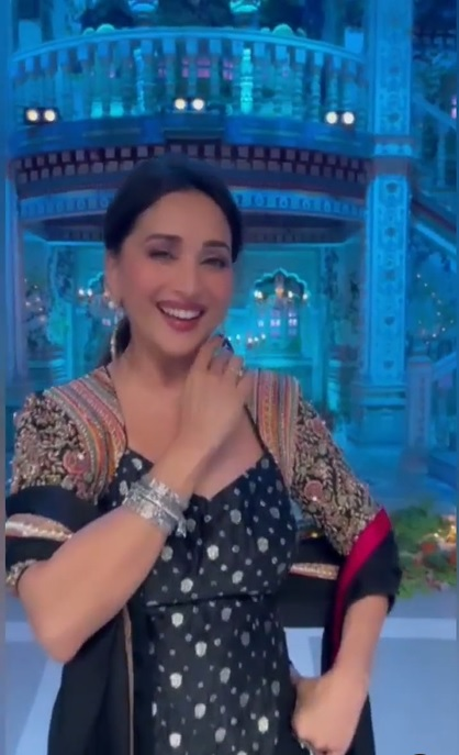 Madhuri Dixit shares a beautiful dance video