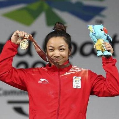 Mirabai Chanu, the proud silver medal winner at the Tokyo Olympic 2020