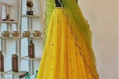 5 Pastel Shade Color Combinations For Lehnga's