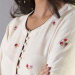 5 Alluring Potli Button Necklines For Kurta And Kurti's