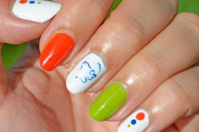 Nail art designs for Independence day celebrations