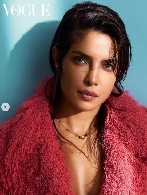 Priyanka Chopra Jonas Vogue India photoshoot for Bvlgari