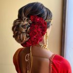 7 Hairstyle Ideas Perfect For The Brides Who Love Wearing Roses