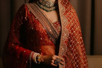 5 Ways To Drape Your Second Bridal Dupatta