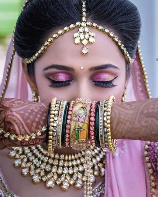 Bridal bindi designs
