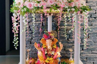 Ganpati decor ideas-Threads-WeRIndia