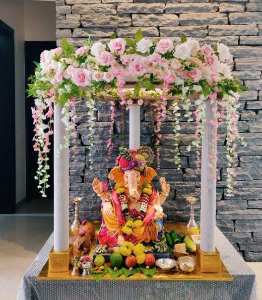 Ganpati décor ideas