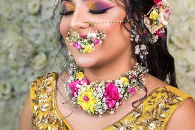 Rainbow eye makeup trend for Indian brides-Threads-WeRIndia