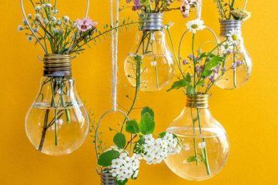 Reuse old Bulbs for DIY home decor pieces-Threads-WeRIndia